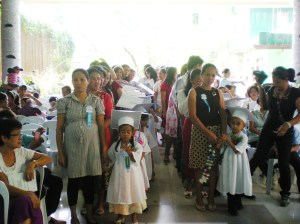 Little Grads with mothers