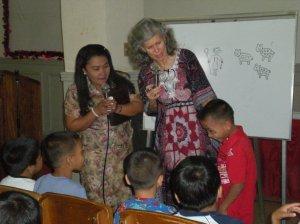 Nancy w children Butuan