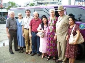 Team in Butuan w Merlinda's new van