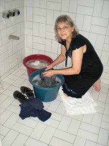 Rita Doing Laundry