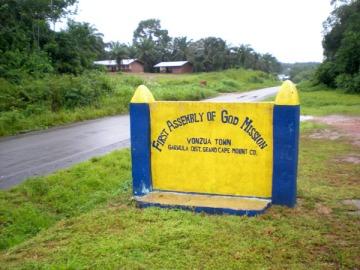 Vonzua, Liberia