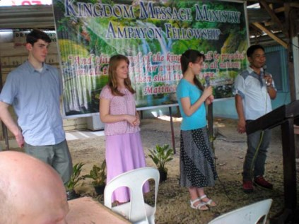 Youth Testimony at Ampayon