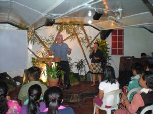 Mark Preaching @ Bible School1