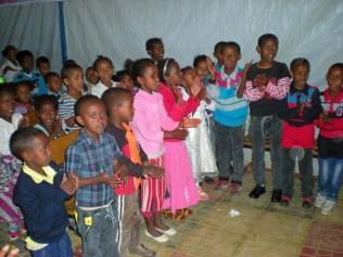 Childern Praising 1