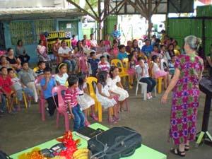 Sister Nancy Teaching Children