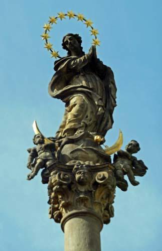 Sumperk Statue Top