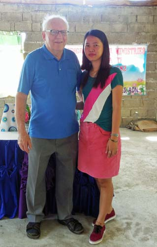 Mark with Translator Christaline