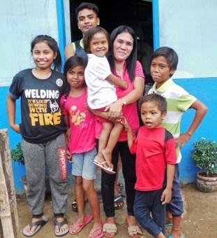 Teacher Helen with Her Children