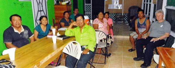 Home meeting at Punta Gorda
